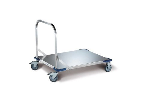 Blanco Platform trolley stainless steel | 100 x 80 | 250 KG