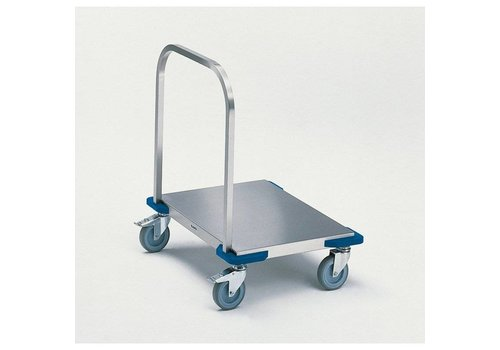 Blanco Platform trolley stainless steel | 80 x 60 | 100 KG