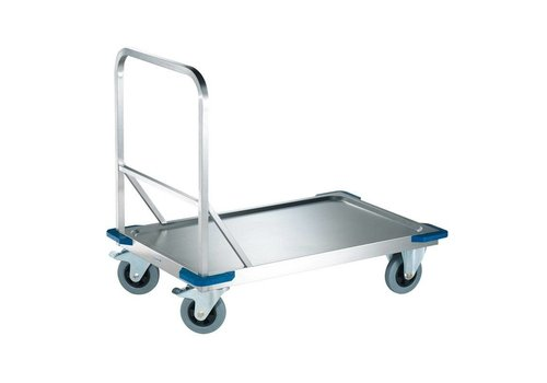 Blanco Platform trolley stainless steel | 100 x 60 | 400 KG