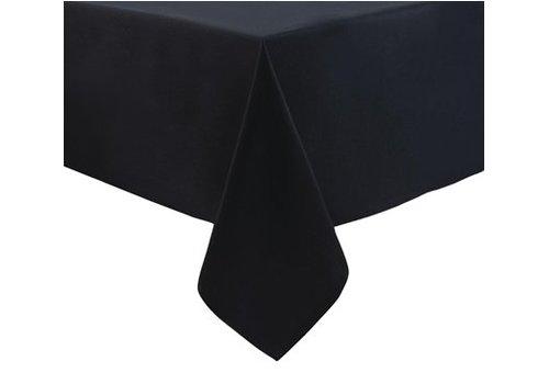 HorecaTraders Polyester Tafelkleed   Zwart   Klassiek