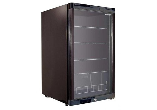 Husky Black bar fridge 122 liters