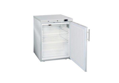 HorecaTraders Kühlschrank Mini   Jumbo 200   Edelstahl (mit geschlossener Tür)