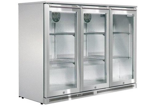 Husky Stainless steel Bar fridge outdoor 285 liters