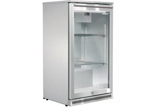 Husky Stainless steel bar fridge outdoor 102 liters