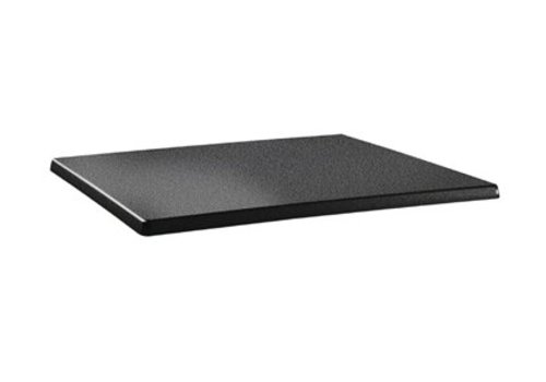 HorecaTraders Table top Rectangular | Anthracite 2 formats