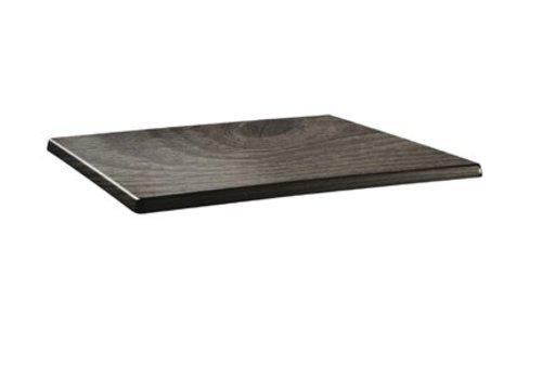 HorecaTraders Table top Rectangular   Wood 2 formats