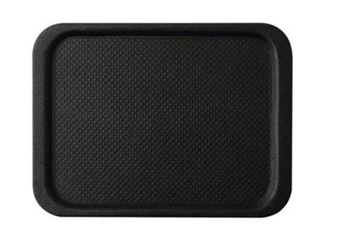 HorecaTraders Anti-slip tray Black