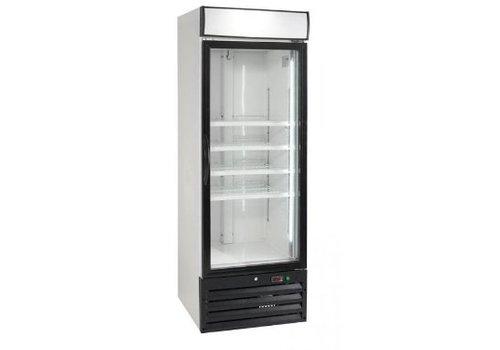 HorecaTraders Freezer with glass door 444 liters