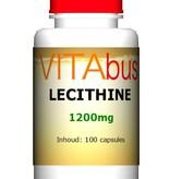 Lecithine 1200 mg 100 capsules