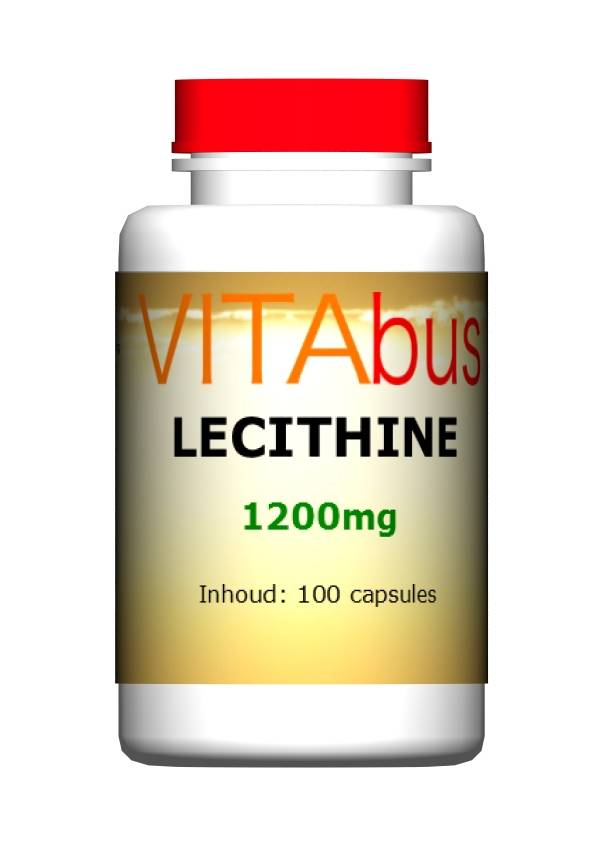 Lecithine 1200 mg 100 capsules