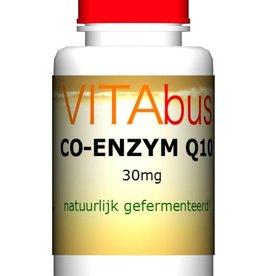 Co-enzym Q10 30 mg natuurlijk gefermenteerd!