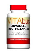 vitabus Advanced multivitamine de beste multivitamine in ons assortiment.