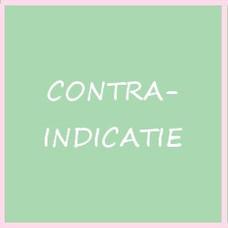 Contra indicatie's