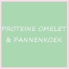 PROTEÏNE OMELET & PANNENKOEK