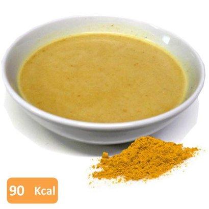 Proteine soep met kip en curry