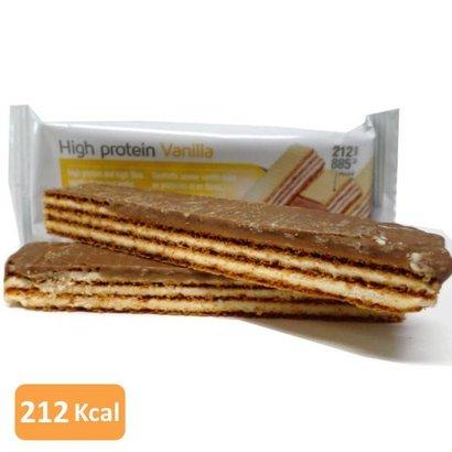 High protein vanilla wafer