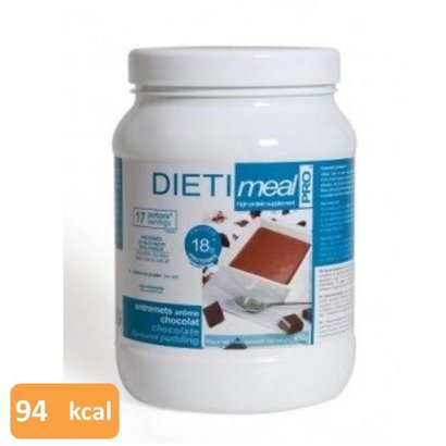 dietimeal pro Shake / pudding chocolade (voordeel pot 450g)