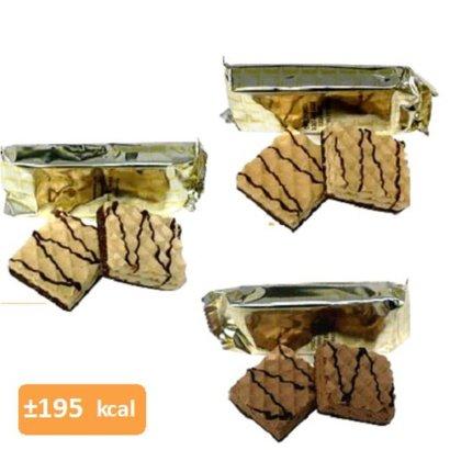 Wafel HC voordeel proefpakket (per 22 wafels: 11 verpakkingen met elk 2 wafels)