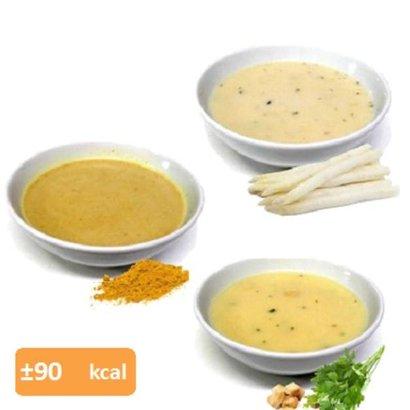Proteine soep proefpakket (10 zakjes in 8 smaken)