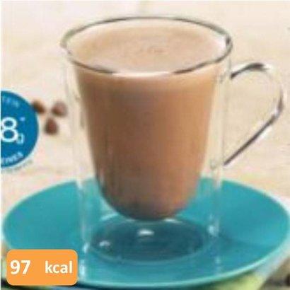 Proteine dranken chocolade: warm of koud drinken? Aan u de keuze.