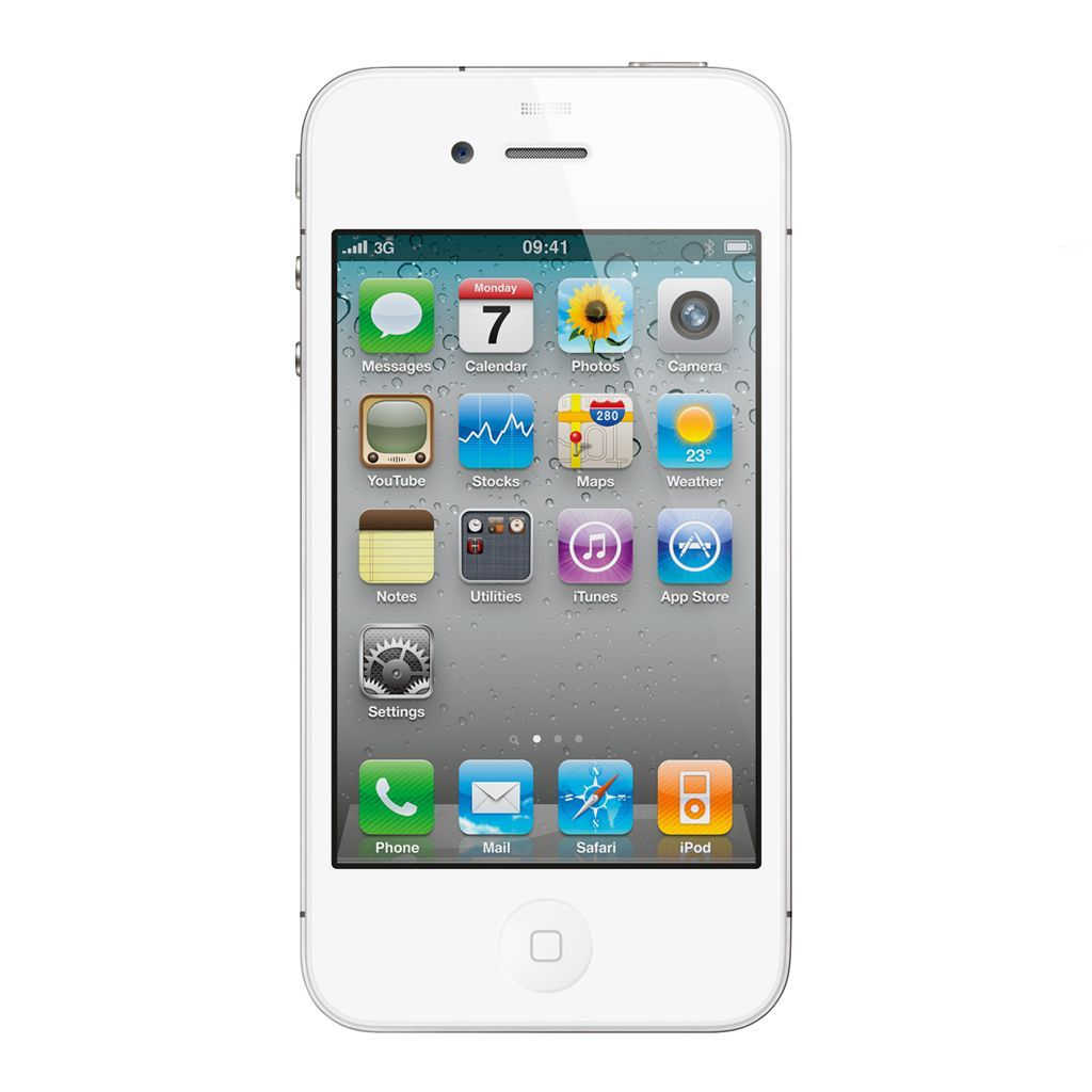 refurbished iphone 4s 32gb wit simlock vrij. Black Bedroom Furniture Sets. Home Design Ideas