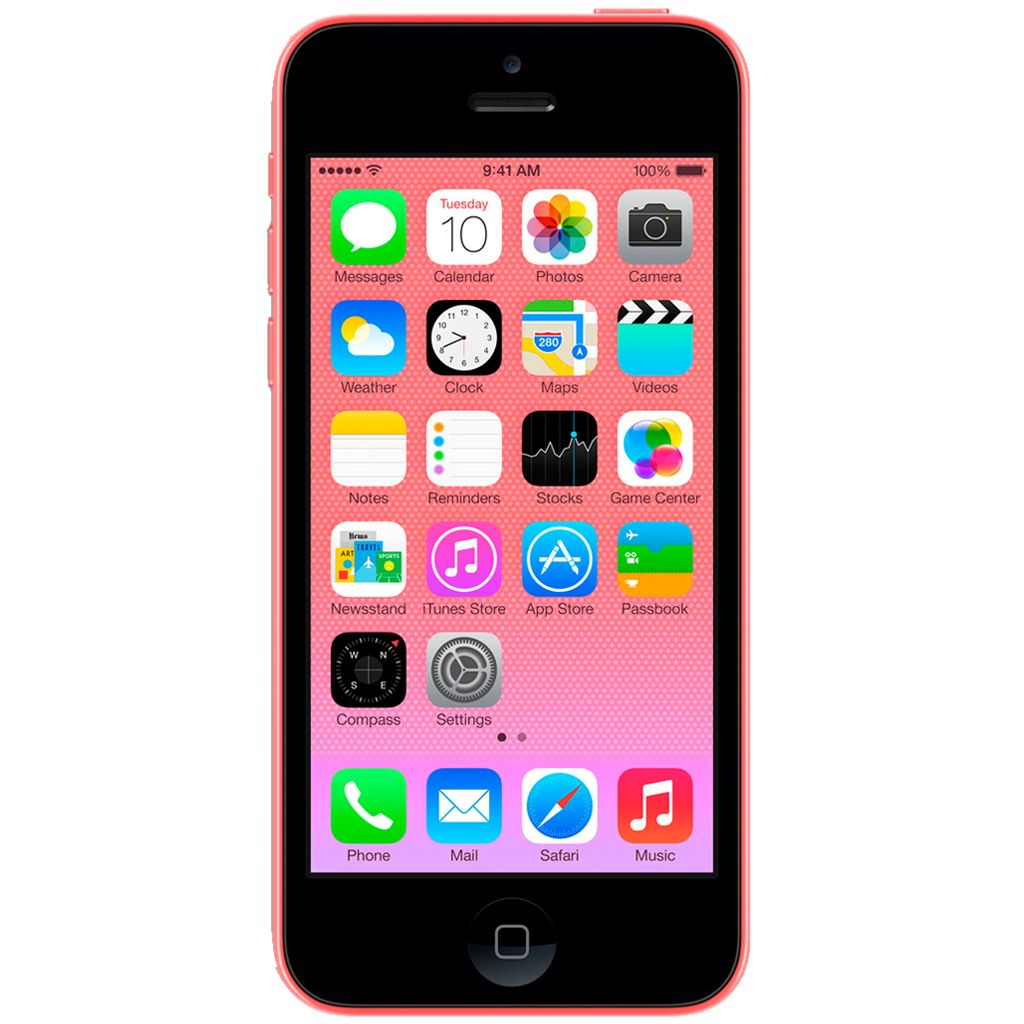 refurbished iphone 5c 16gb roze simlock vrij. Black Bedroom Furniture Sets. Home Design Ideas