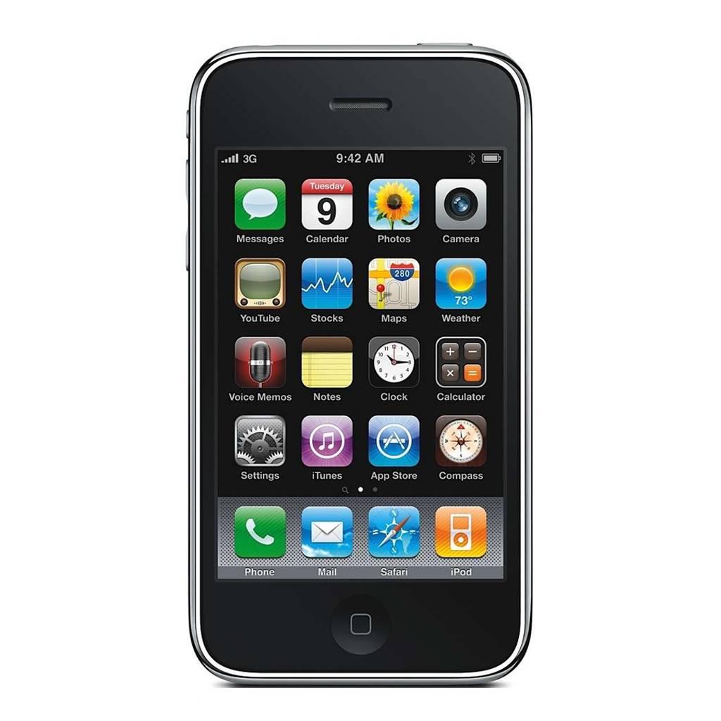 refurbished iphone 3gs 32gb zwart simlock vrij. Black Bedroom Furniture Sets. Home Design Ideas