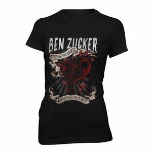 """Ben Zucker Damen-Shirt """"Wofür hat man ein Herz..."""""""