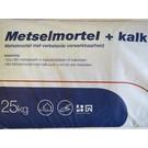 Metselmortel + kalk - zak 25kg