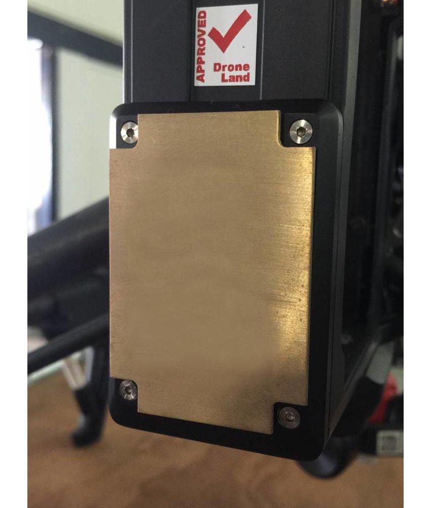 Fireproof plate / ID TAG