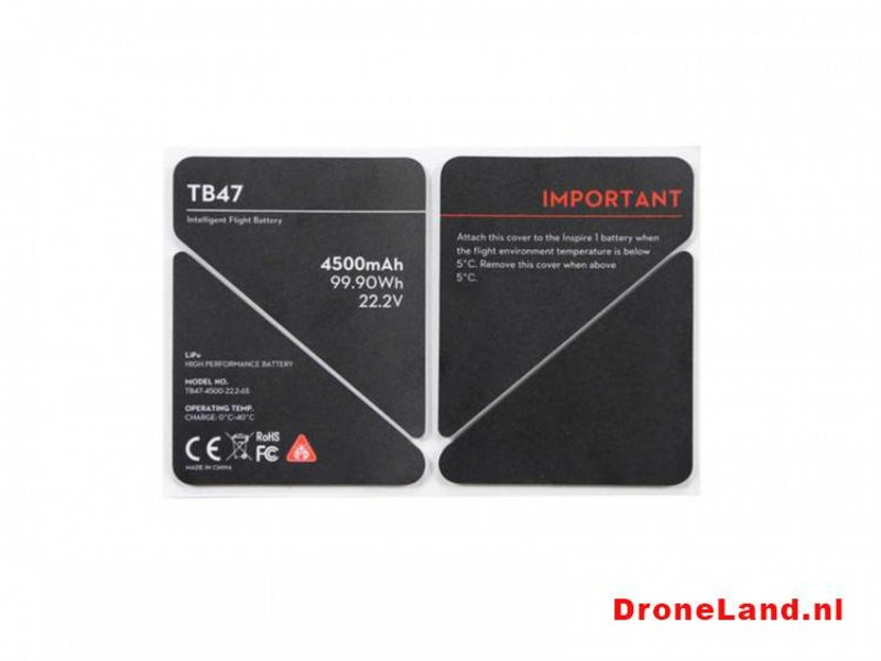 DJI DJI Inspire 1 TB47 Battery Insulation Sticker (Part 50)