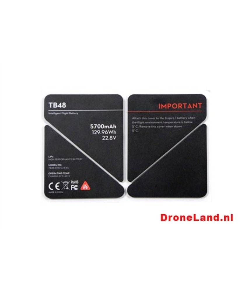 DJI Inspire 1 TB48 Battery Insulation Sticker (Part 51)