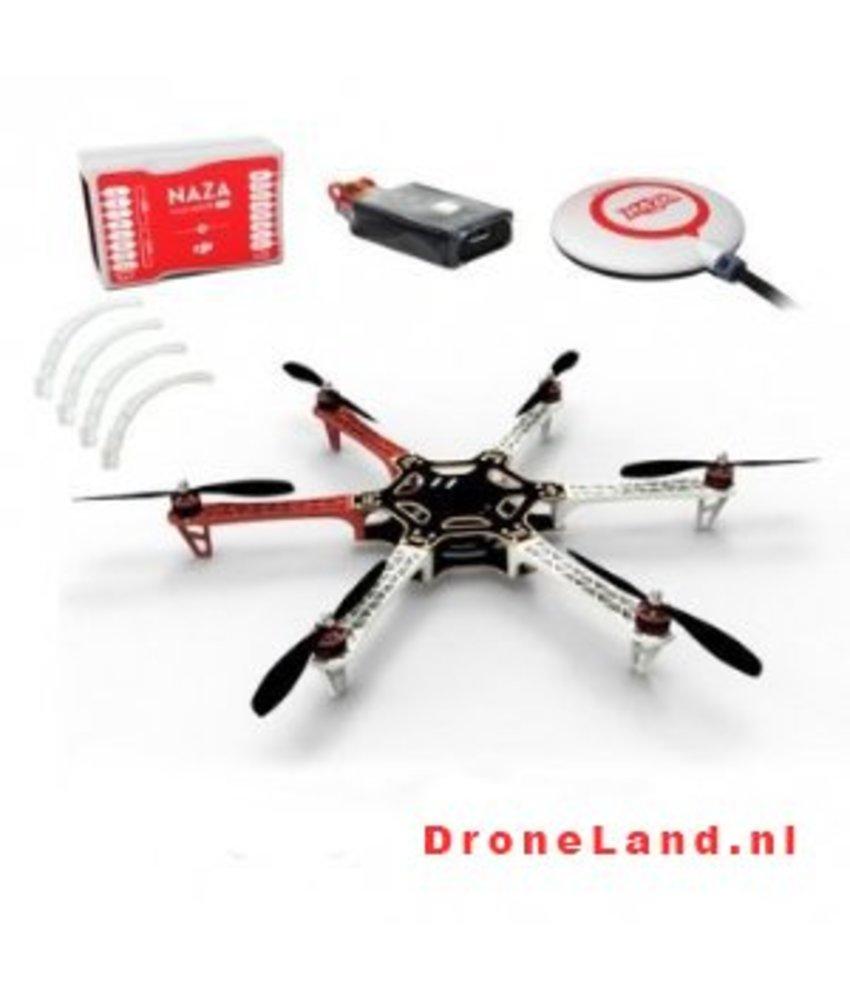 DJI F550 + Naza-M Lite + Landing Gear Combo