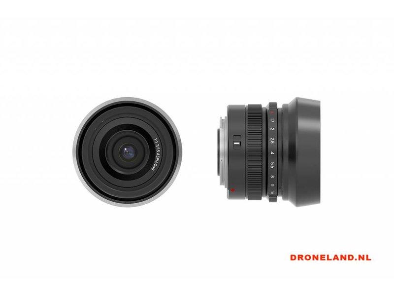 DJI DJI MFT 15mm F/1.7 Prime Lens