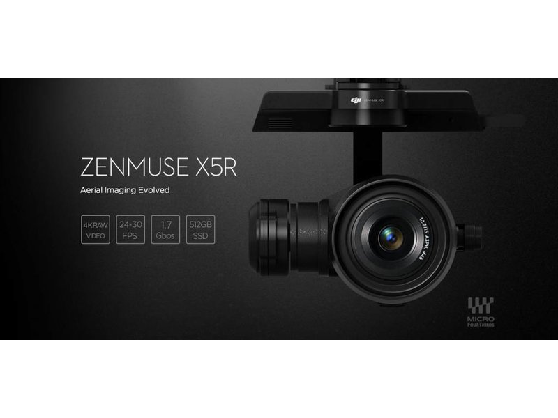 DJI DJI Zenmuse X5R Gimbal And Camera (Without Lens, With SSD)