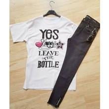 Yes Please Leave The Bottle T-shirt