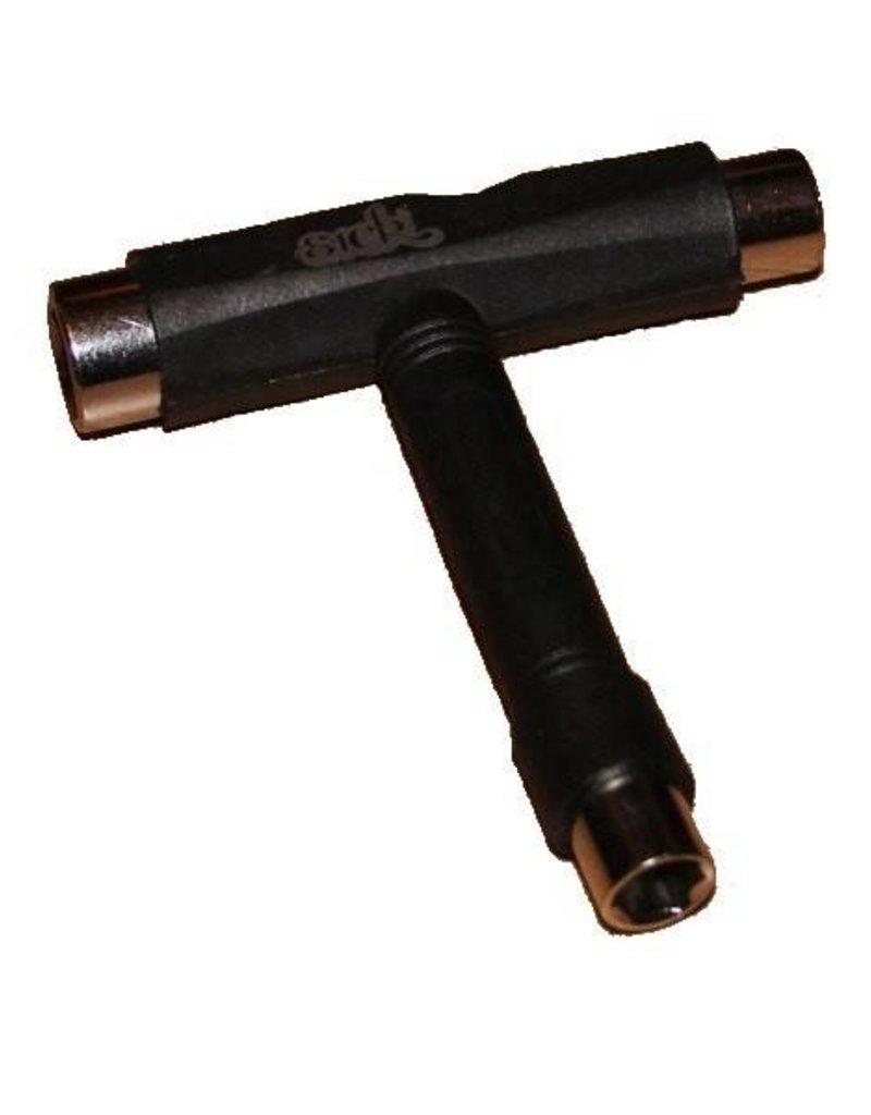 T-Tool sleutel voor boarders en skaters
