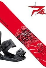 Limited4Y Snowboard Graphcity Wide Red 163