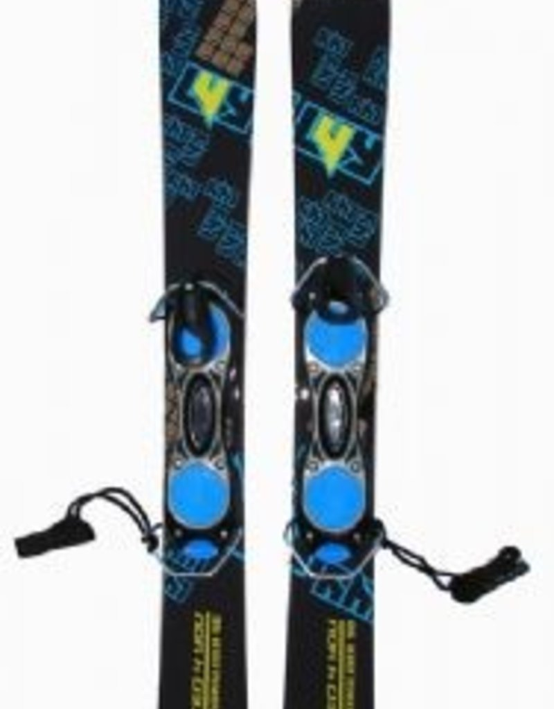 Limited4Y Funblades L4You Snowglider Blue 90 cm, snowblades met hevelbinding