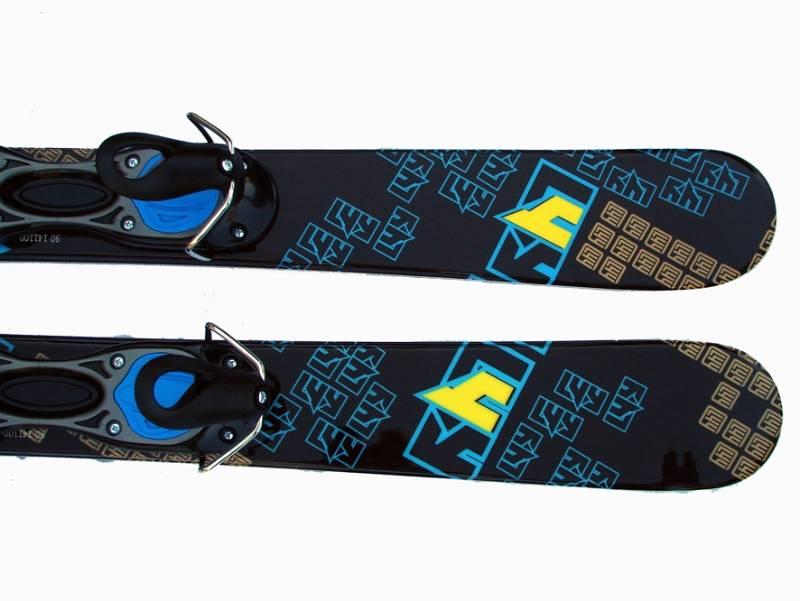 Limited4Y Funblades L4You Snowglider Blue 90 cm, snowblades met hevelbinding