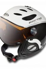 Mango Ski/ snowboard helm Cusna Free Carbon/ white