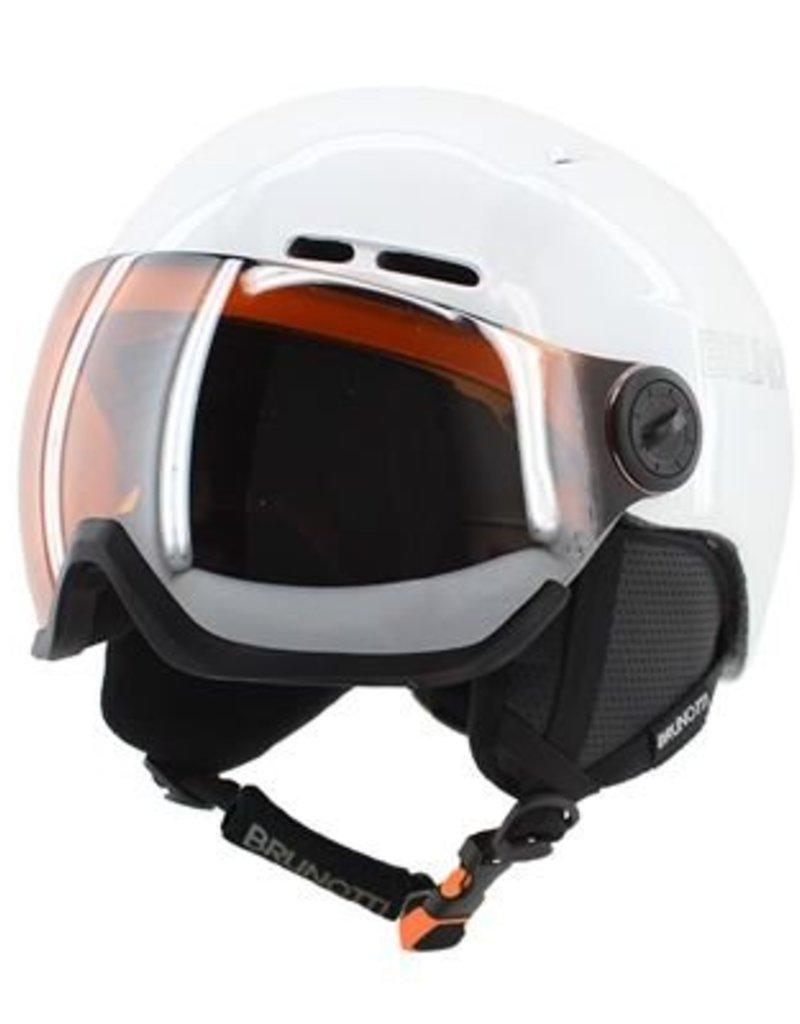 Brunotti Ski- snowboard vizier helm Haveo 3 mat zwart model 2016-2017 NU VOORDEEL