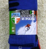 Falcon Skisokken Calze Cortina  2 pack maat 23 / 47