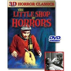 Little Shop of Horrors 3D DVD