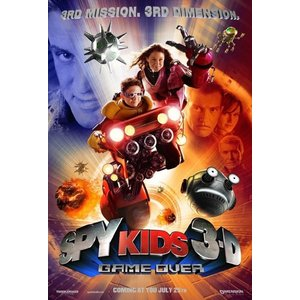 Spy Kids 3D. 3D DVD