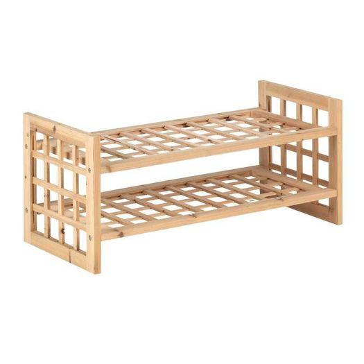 Schoenenrek hout