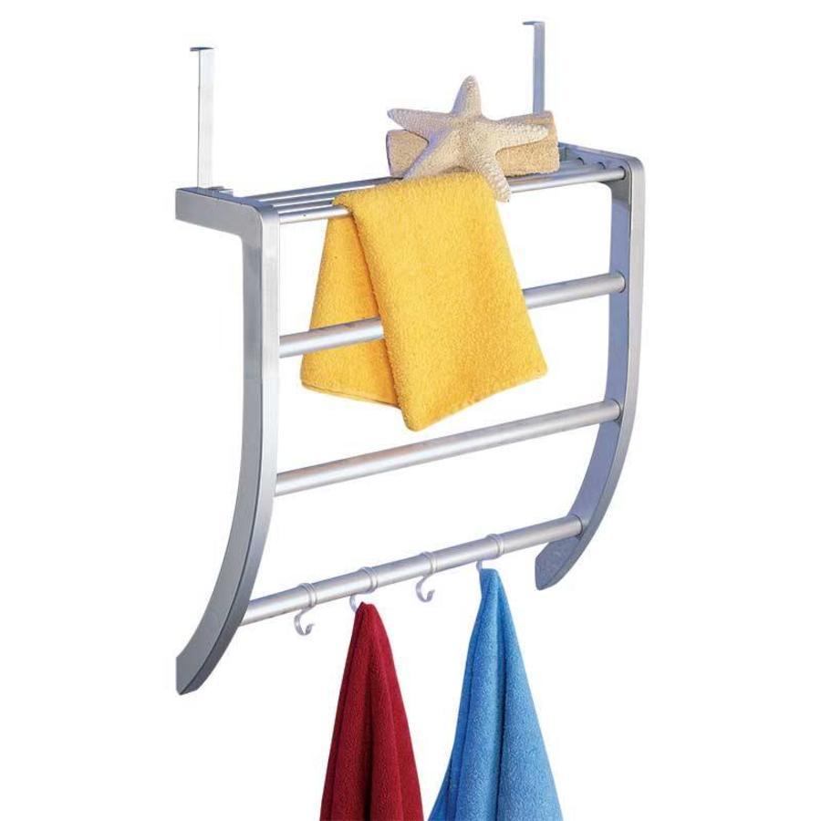 Handdoekenrek deur of wand - OpbergSpecialist