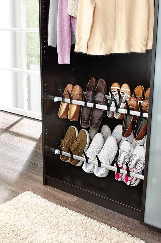 schoenenrek 10 paar kastmontage opbergspecialist. Black Bedroom Furniture Sets. Home Design Ideas