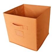 Doos stof oranje