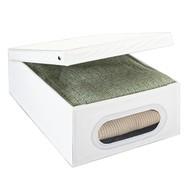 Kledingbox opvouwbaar 33 liter met venster